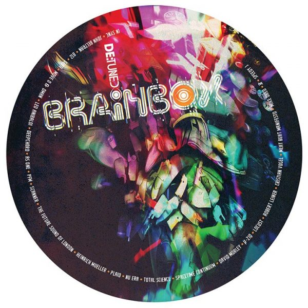 Various - Brainbox promotional sticker