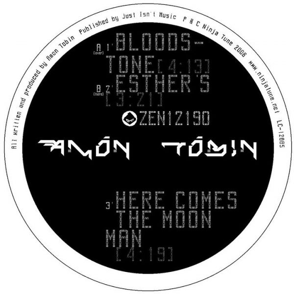 "Amon Tobin - Bloodstone 12"" label A"