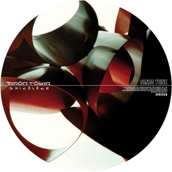 Amon Tobin - Bricolage CD disc