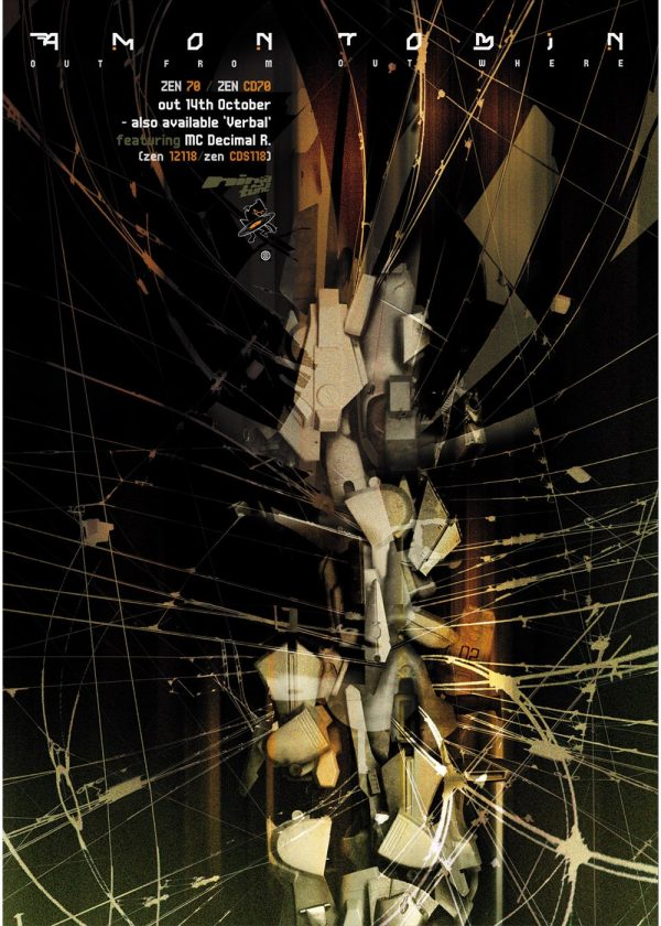 Amon Tobin - Out From Out Where UK promotional poster