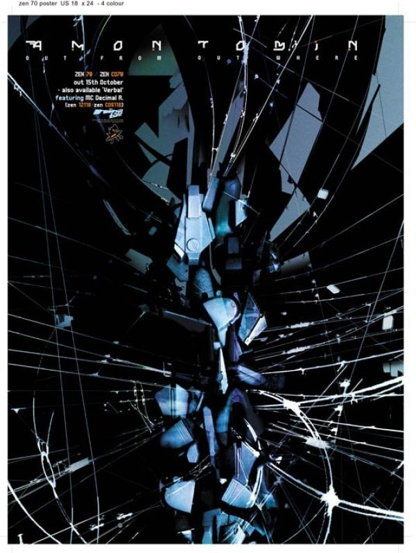 Amon Tobin - Out From Out Where US promotional poster