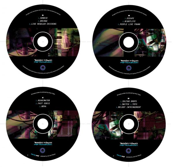 Amon Tobin - Permutation LP labels