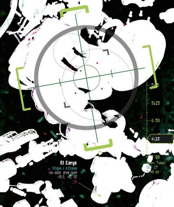 Amon Tobin - Chaos Theory 5.1 DVD inlay (Ninja Tune) 2004