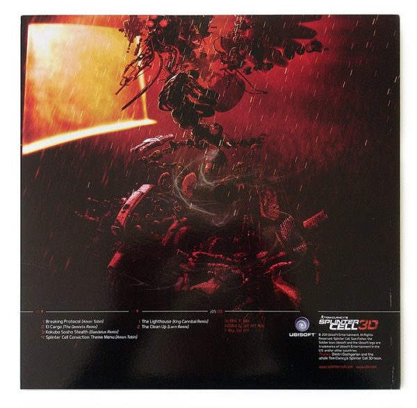 Amon Tobin - Chaos Theory Remixed LP inner sleeve back