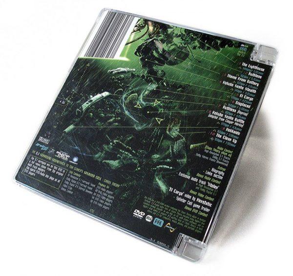 Amon Tobin - Chaos Theory 5.1 DVD back