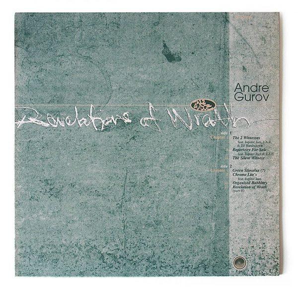 "Andre Gurov - Revelations Of Wrath 12"" front"