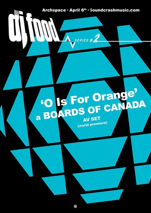 DJ Food AV series #2 - O Is For Orange flyer