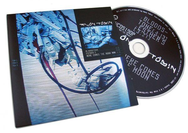 Amon Tobin - Bloodstone CDS front + disc