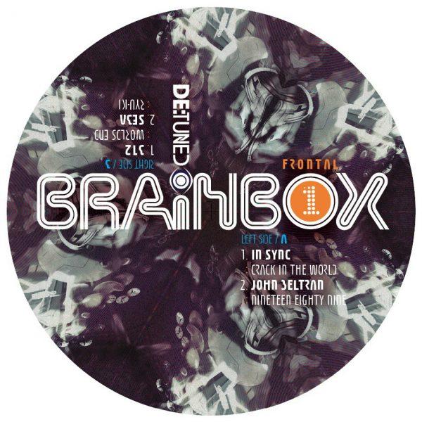 Various - Brainbox LP label