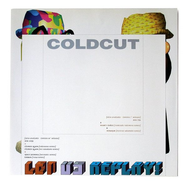 Coldcut - Let Us Replay LP inner sleeve