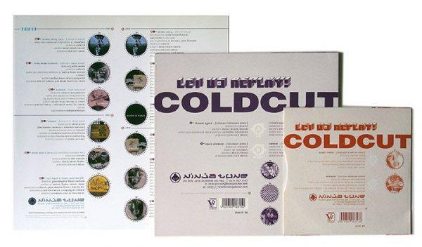 "Coldcut - Let Us Replay LP inner sleeve + 10"" + 7"" back"