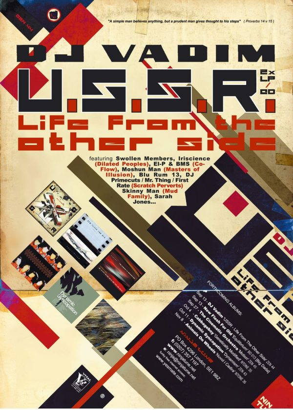 DJ Vadim - USSR Life From The Other Side advert