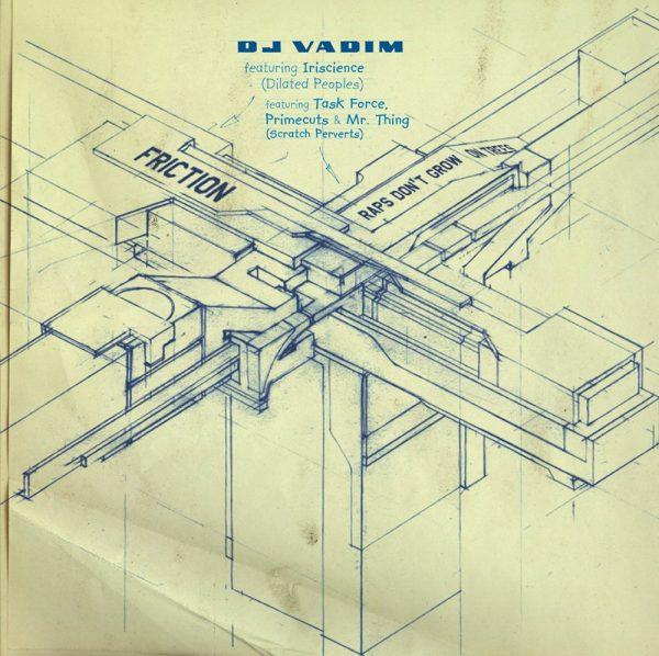 "DJ Vadim - Friction 12"" front"