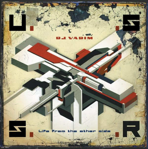 DJ Vadim - USSR Life From The Other Side LP front