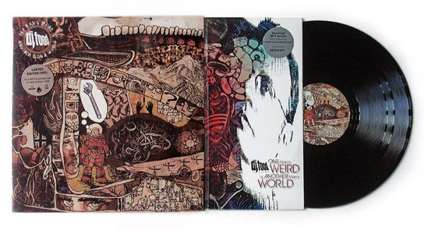 "DJ Food - One Man's Weird Is Another Man's World 12"" front + inner + disc"