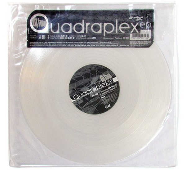 "DJ Food - Quadraplex 12"" front"