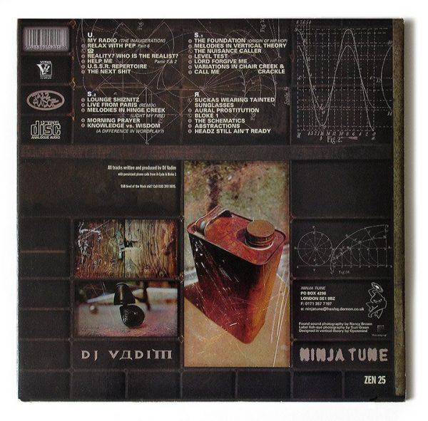 DJ Vadim - USSR Repertoire LP back