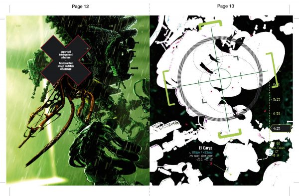 Amon Tobin - Chaos Theory 5.1 DVD inlay