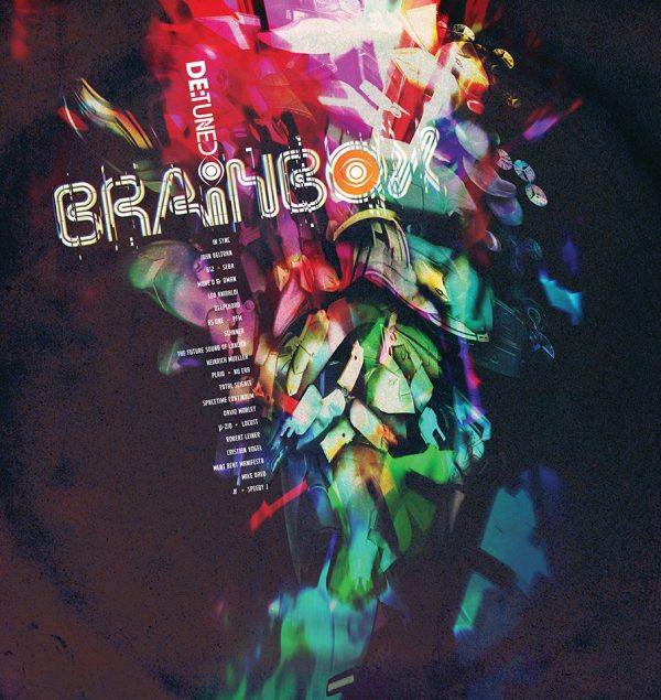 Various - Brainbox LP box front