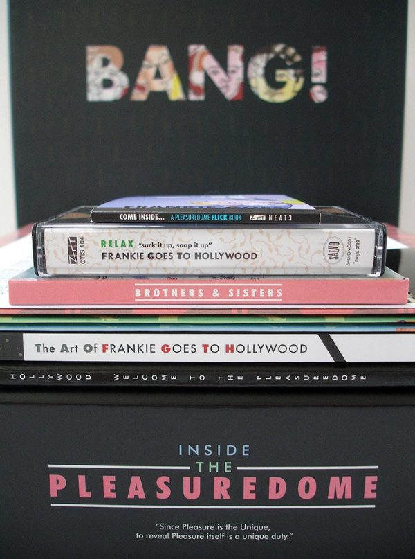 Frankie Goes To Hollywood - Inside The Pleasuredome box set contents