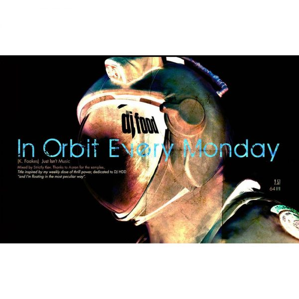 DJ Food - In Orbit Every Monday imaginary film poster