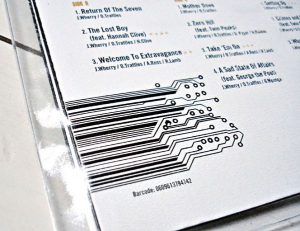 The Herbaliser - There Were Seven LP barcode detail