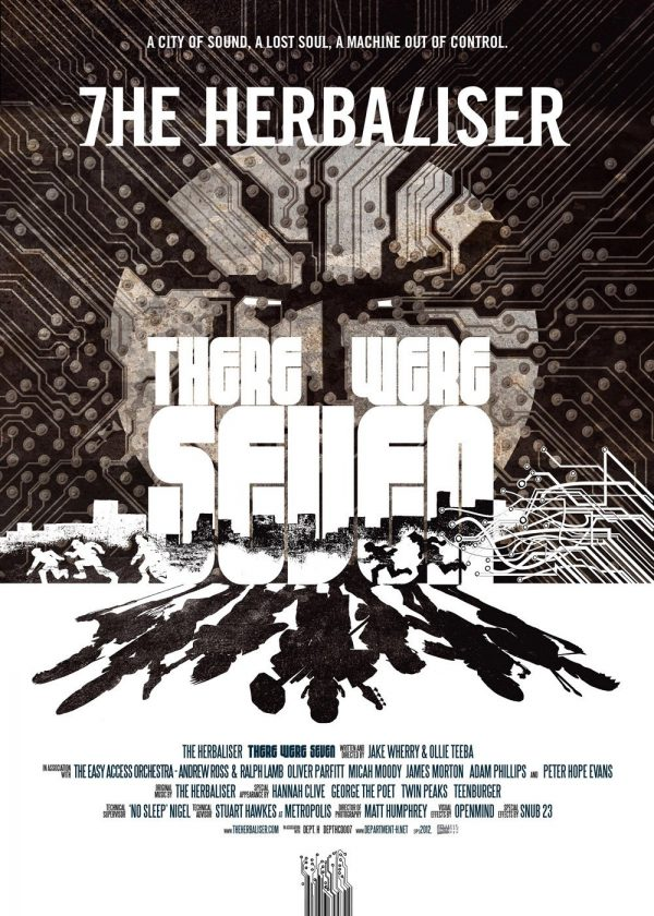 The Herbaliser - There Were Seven LP promo poster