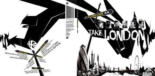 The Herbaliser - Take London LP deluxe front + back