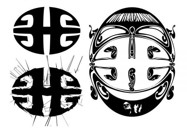 The Herbaliser - H logo, 1996, 1999, 2002