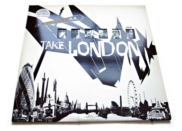 The Herbaliser - Take London LP deluxe front