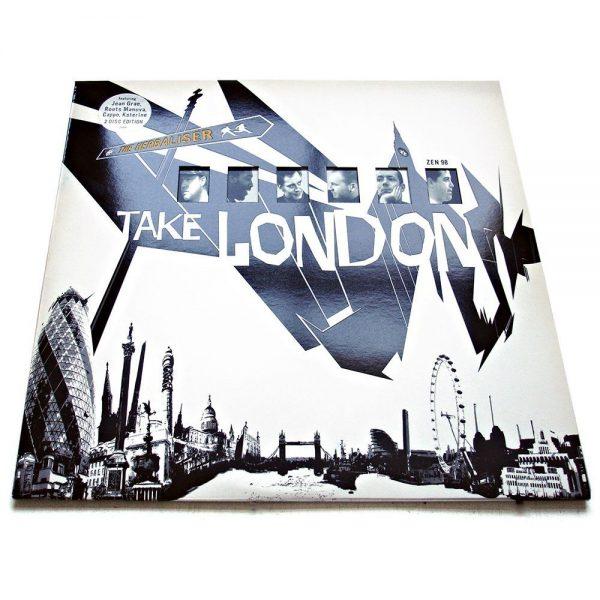The Herbaliser - Take London cover w. die cut windows & spot varnish