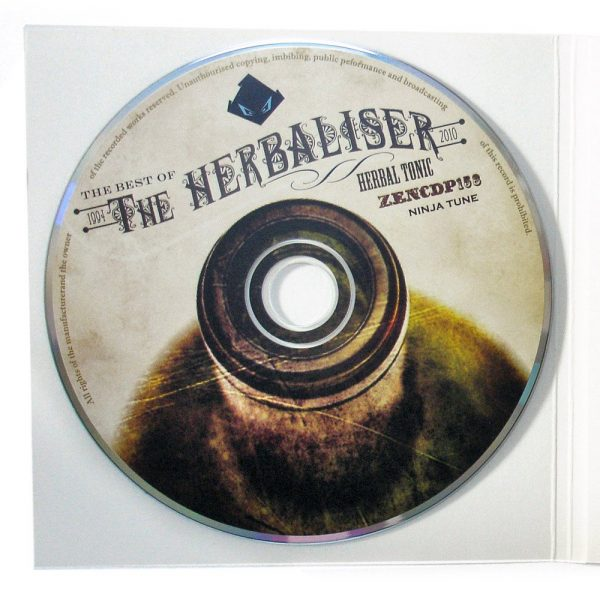 The Herbaliser - Herbal Tonic promo CD disc