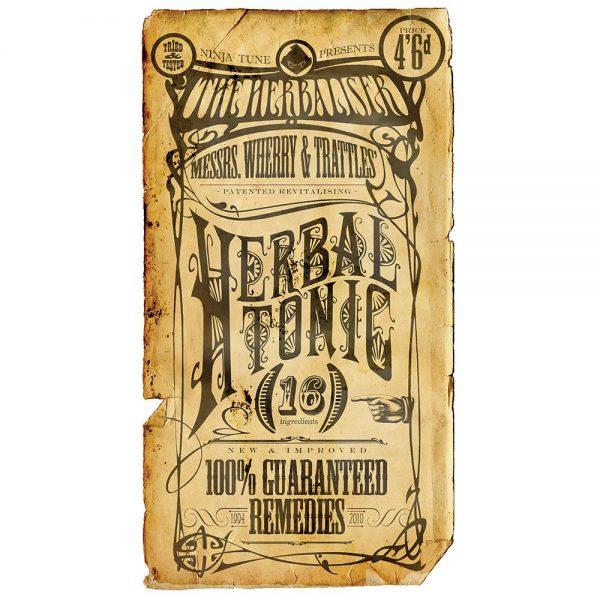 The Herbaliser - Herbal Tonic promo CD graphic