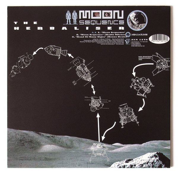 """The Herbaliser - Road of Many Signs / Moon Sequence 12"""" back"""