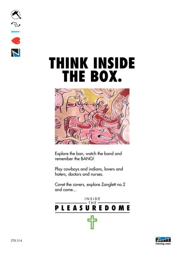 Frankie Goes To Hollywood - Inside The Pleasuredome imaginary advert