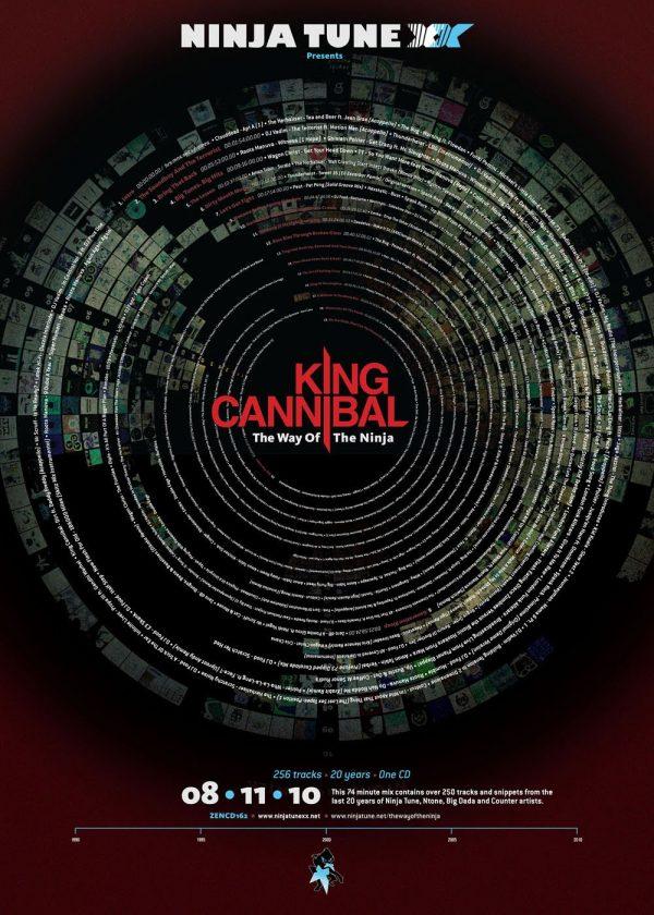 King Cannibal - Way Of The Ninja promo poster