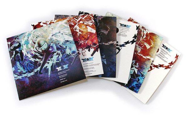 "Ninja Tune XX - 6x12"" fronts"