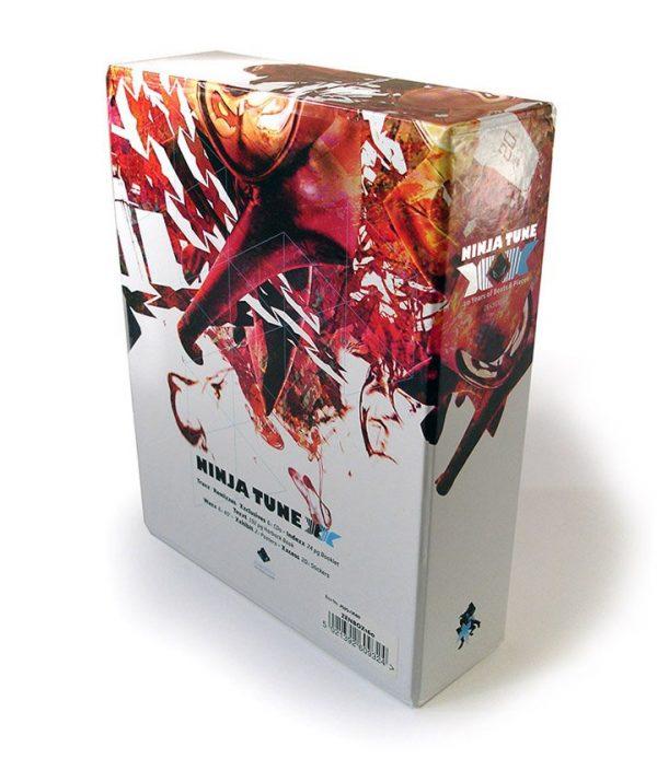 Ninja Tune XX box set slipcase back