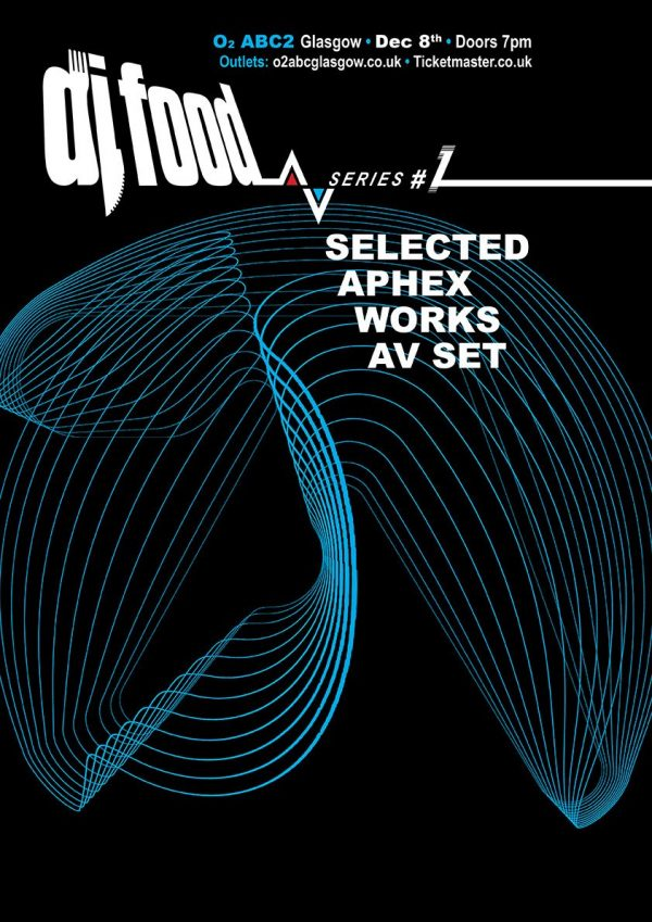 DJ Food AV series #1 - Selected Aphex Works flyer