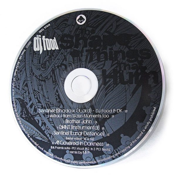 DJ Food - The Shape Of Things That Hum CD promo disc