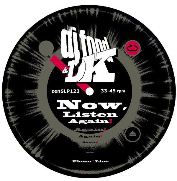 DJ Food & DK - Now, Listen Again slipmat