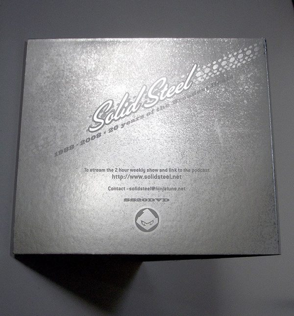 Various - Solid Steel 20th anniversary DVD back