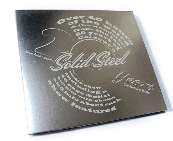 Various - Solid Steel 20th anniversary DVD front