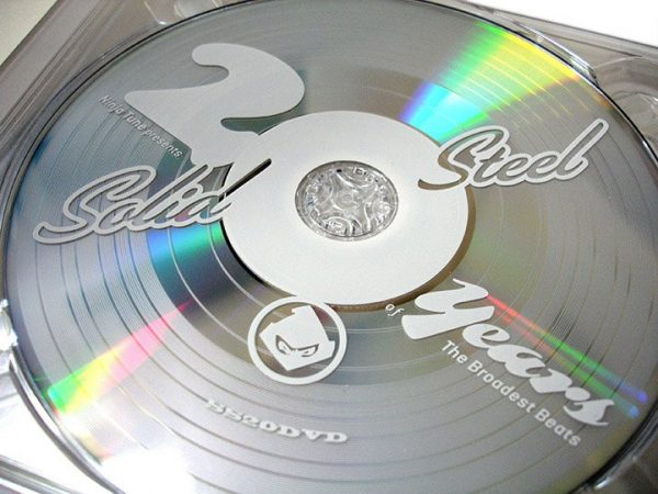 Various - Solid Steel 20th anniversary DVD disc