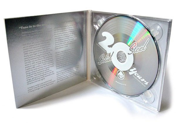 Various - Solid Steel 20th anniversary DVD inside