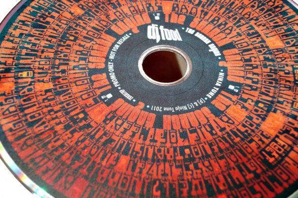 DJ Food - The Search Engine Promo CD disc