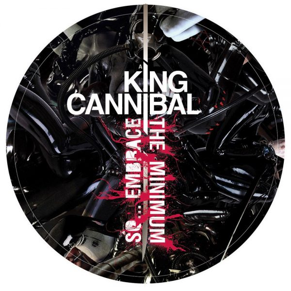 "King Cannibal - So... Embrace the Minimum 12"" label A"