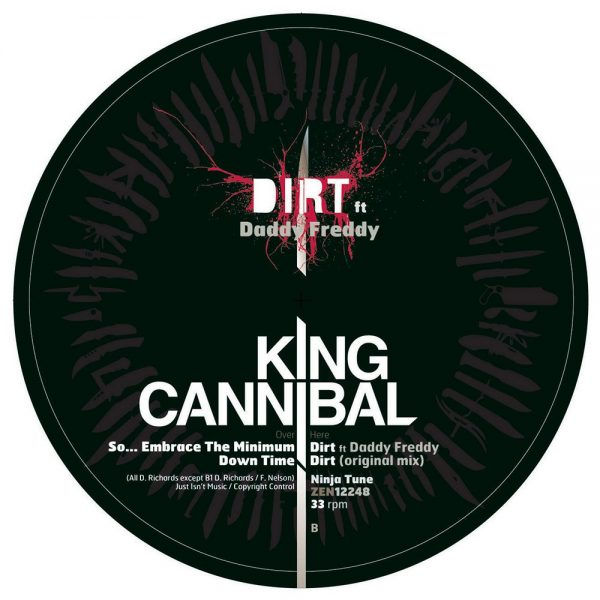 "King Cannibal - So... Embrace the Minimum 12"" label B"