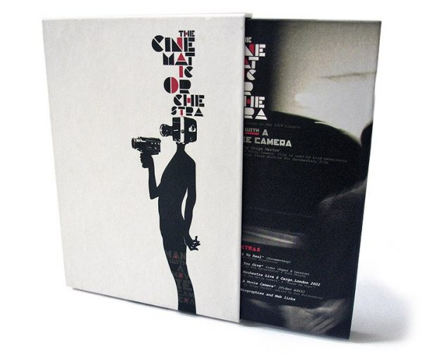 The Cinematic Orchestra - Man With A Movie Camera DVD + slipcase