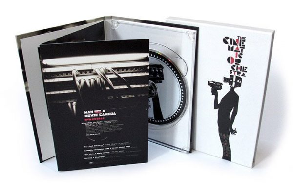 The Cinematic Orchestra - Man With A Movie Camera DVD inside